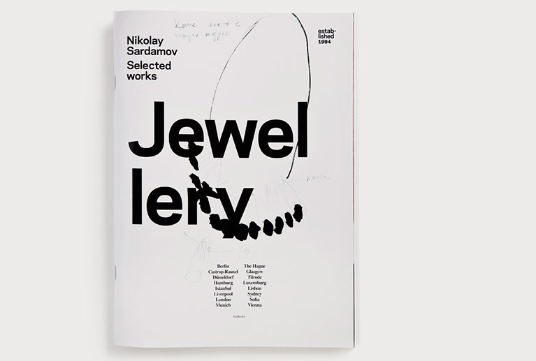 Download book-Nikolay Sardamov selected works jewellery