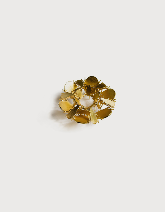BROOCH 1, gold - Nikolay Sardamov
